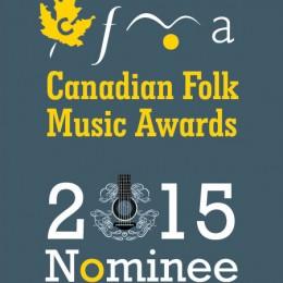 09.10.2015 / Canadian Folk Music Award Nomination!